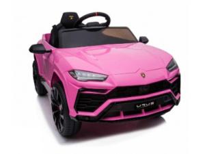 Lamborghini Urus - Roze - Softstart en Lederen stoel
